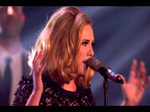Adele  Rolling In The Deep   at the BRIT Awards 2012 HQ