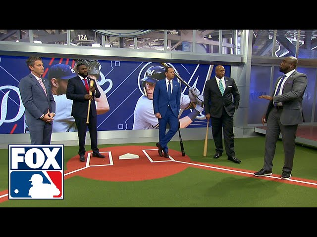 Dontrelle Willis breaks down Christian Yelich's approach at the plate | FOX MLB