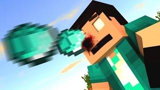 Minecraft - JOGUE TUDO!! NOVO JEITO DE QUEBRAR BLOCOS! Throwing Everything Mod Showcase