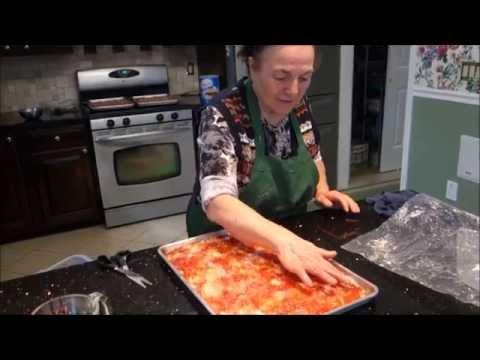 Italian Grandma Makes Pizza & Bread