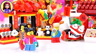 Lego Chinese New Year Temple Fair Build