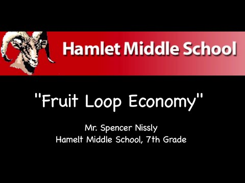 Hamlet Middle School's Fruit Loops Economy