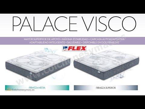 Colchón Flex Palace Visco Dos Firmezas