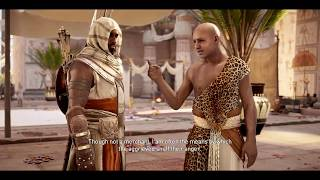 ASSASSIN'S CREED: ORIGINS |Gameplay Walkthrough Part 7| (Ambush in the Temple: Side Quest Part 1)