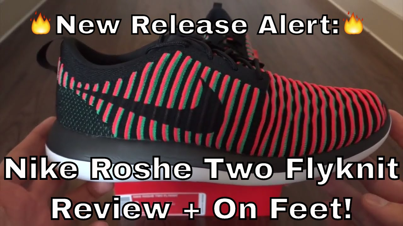 dd725d433a95c Nike Roshe Two Flyknit Review + On Feet! - YouTube