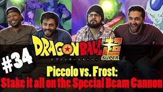 Dragon Ball Super ENGLISH DUB - Episode 34 - Group Reaction