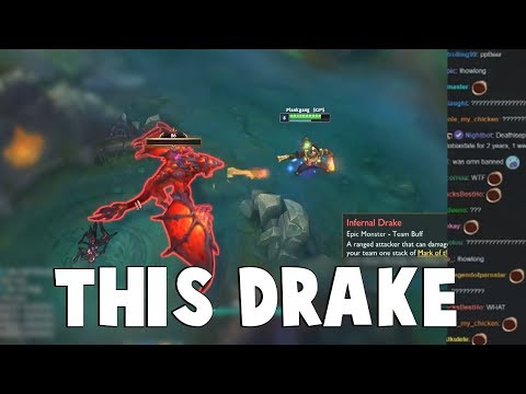 The Most Random Drake You'll Encounter in League of Legends..  | Funny LoL Series #512 thumbnail