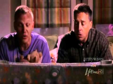 Army Wives Season 4 Episode 09 New Orders singing The Army Goes Rolling Along