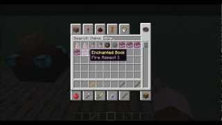 Minecraft: How to Make a Fire Wand (No Mods) (1.4.7)