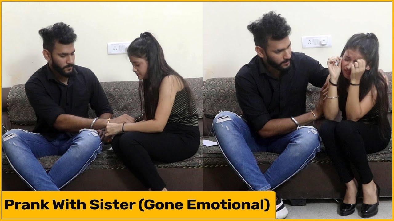 Prank With Sister | Raksha Bandhan Special | Desi Prankster