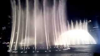 Dubai Mall Fountain Show HD- New year 2015