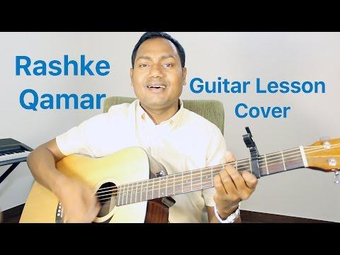 "Rashke Qamar Guitar Lesson ""Online Bollywood Guitar Lessons/Tutorials"" By Mayoor"
