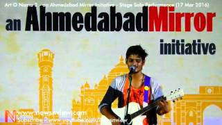 Gulabi Aankhen Jo Teri Dekhi Unplugged Version Performance in Ahmedabad