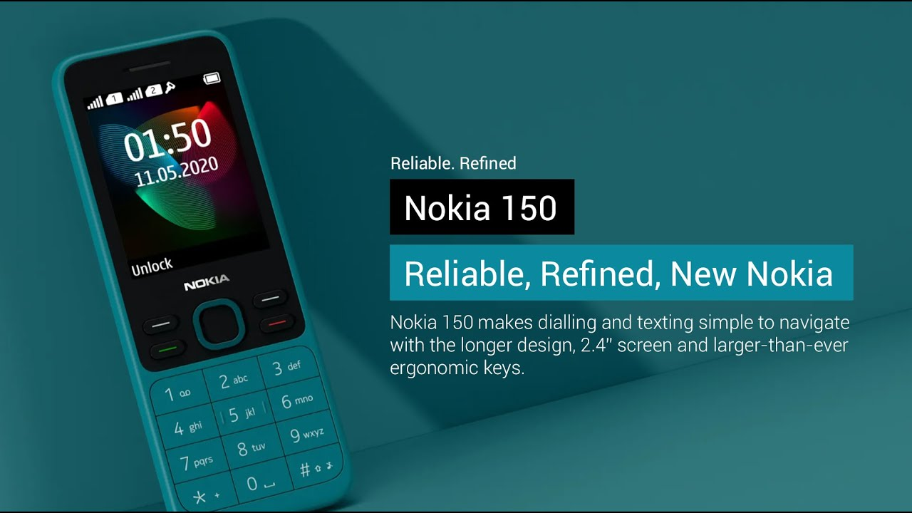 Nokia 150 (2020) | Nokia Feature phone 2020 edition, Price and ...