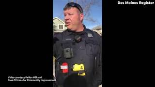 Video: A Republican campaign worker says he was racially profiled by West Des Moines police
