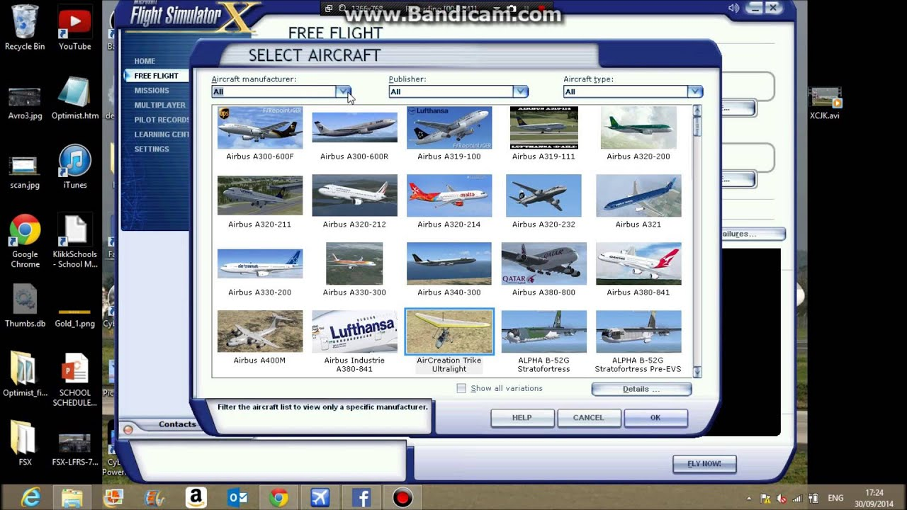 How to add planes to FSX     Simviation