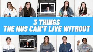 Meet the Nus! | 3 Things The Nus Can't Live Without