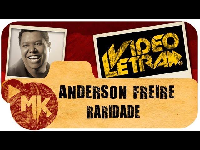 Anderson Freire - Raridade - COM LETRA (VideoLETRA® oficial MK Music)