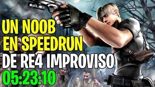 Resident Evil 4 SPEEDRUN DE NOOB | 05:20:40 | TODO EL JUEGO EN 1 DÍA | NO SUPERARMAS