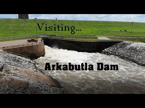 Visiting Arkabutla Dam, Lake And Recreation Camping Area In Northern Mississippi.