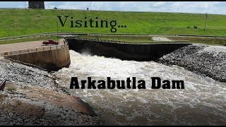 Visiting Arkabutla Dam, ląke and recreation camping area in northern Mississippi.