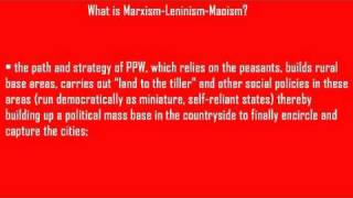 What is Marxism-Leninism-Maoism?