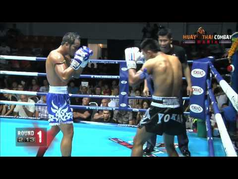 Kem Sitsongpeenog vs Yodsanklai Fairtex KO HD Muay Thai Combat Mania Pattaya #Yokkao3 @yokkaoboxing