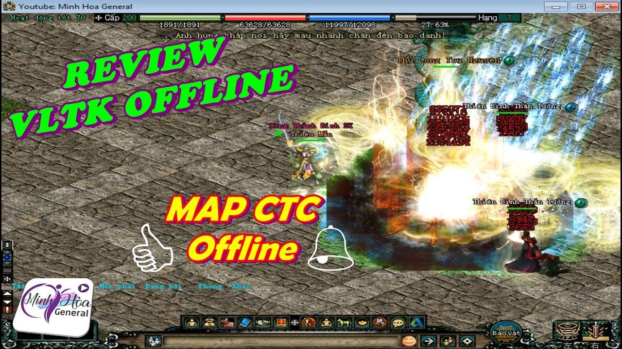 [VLTK Offline] Côn Lôn Đao dạo chơi bản đồ Công Thành Chiến đánh quái siêu phản dame