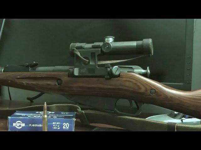 モシン・ナガン M91/30 PU スナイパー 実銃レビュー Part 2