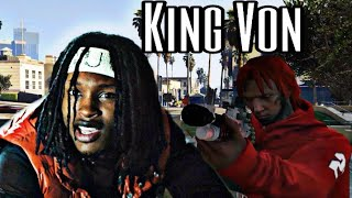 "King Von ""Crazy Story(Offcial)Gta 5"
