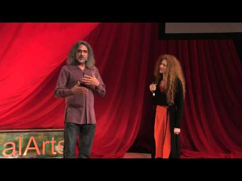 Relational soup -- philosophy, art, and activism | Brian Massumi and Erin Manning | TEDxCalArts