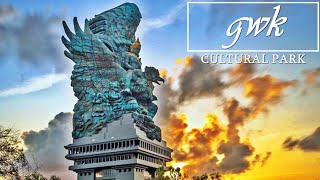 Megahnya Patung GWK Di Objek Wisata Garuda Wisnu Kencana Bali
