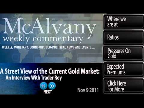 A Street View of the Current Gold Market | McAlvany Commentary