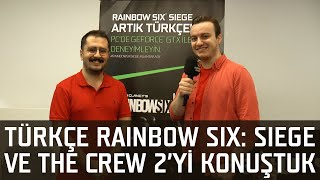 Türkçe Rainbow Six: Siege ve The Crew 2 Video