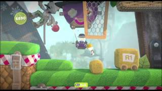 Little big planet 3, Needlepoint Peaks all goodies and prizes