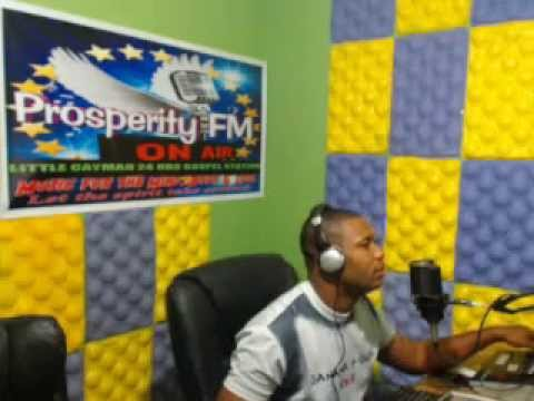 ''PRAISE WITHOUT LIMIT'' 12,01, 2014 ON PROSPERITY FM IN CAYMAN WITH DJ ROBERT