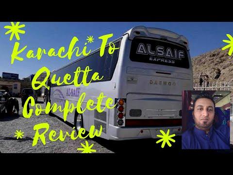 Karachi To Quetta Complete Review | Al Saif Daewoo Service | RAS Vlog 17