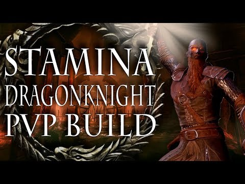ESO PVP | Aggressive Stamina Dragonknight Solo Build | Clockwork City