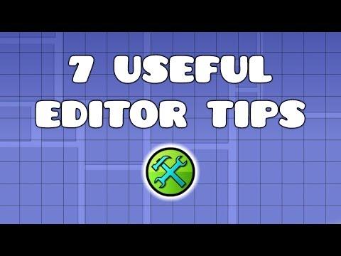 Geometry Dash- 7 Useful Editor Tips