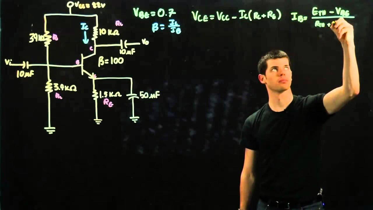 Circuits 2 Npn Transistor Youtube