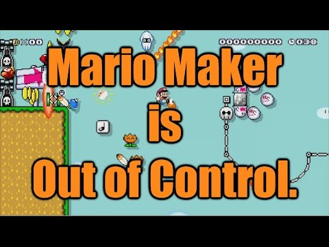 Mario Maker is Out of Control.