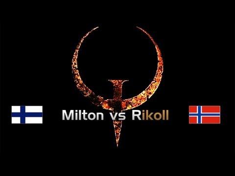 QuakeWorld Democast: Milton vs Rikoll [English Commentary] 1vs1 GrandFinal 1080p 1440p