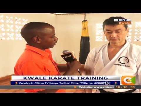 Citizen Extra: Kwale Karate Youth trained in Martial arts in a bid to fight drug abuse