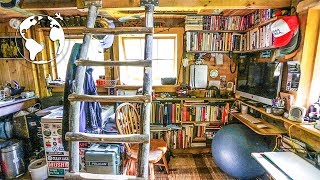 Teenager Builds Off-grid Tiny House  80% Recycled Material