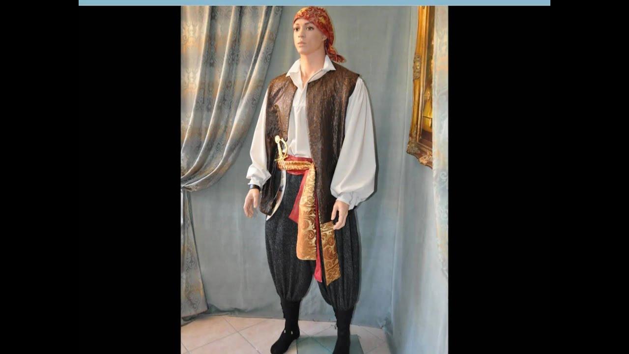 Popolare Vestito da Corsaro uomo - Pirata - Abiti di Carnevale - YouTube UA15