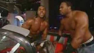 [Wwe.com] Cryme Tyme Steal WWE Tag Teams Champions Deuce & Domino Car