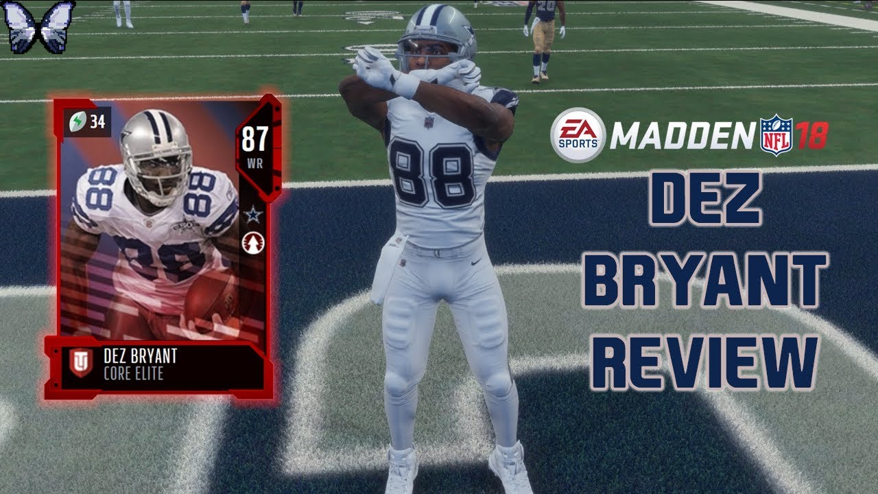 Dez Bryant Review Madden 18 Player Reviews