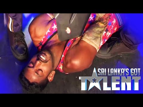 මේක මරණයත් අතර සටනක්ද ? | Sando Act by Chandana Rubasinghe | Sri Lanka's Got Talent | SLGT |Audition