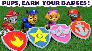 Paw Patrol rescue funny Funlings and earn their Play Doh Badges with Thomas and Friends Trains TT4U
