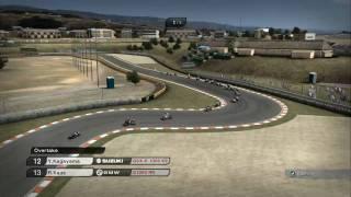 SBK 09  - Gameplay Highlights Replay - Kyalami [HD]
